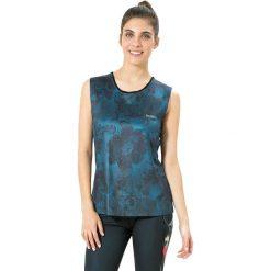 Koszulka funkcyjna w kolorze niebieskim. Niebieskie bluzki sportowe damskie Desigual Sport, xs, z materiału. W wyprzedaży za 121,95 zł.