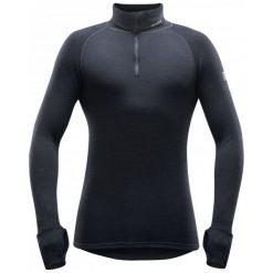 Devold Męska Bluzka Expedition Man Zip Neck, Black, Xxl. Czarne odzież termoaktywna męska Devold, m. Za 345,00 zł.