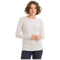 Galvanni Sweter Damski Bunbury L, Kremowy. Białe swetry klasyczne damskie GALVANNI, l, z materiału. W wyprzedaży za 269,00 zł.