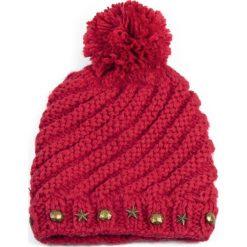 Zimowa czapka damska różowa r. 56-59 cm. Czerwone czapki zimowe damskie marki Art of Polo, na zimę. Za 37,60 zł.