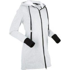 Bluzy polarowe: Bluza rozpinana na podszewce z polaru, długi rękaw bonprix jasnoszary melanż