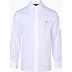 Polo Ralph Lauren - Koszula męska łatwa w prasowaniu, czarny. Szare koszule męskie marki Polo Ralph Lauren, l, z bawełny, button down, z długim rękawem. Za 449,95 zł.