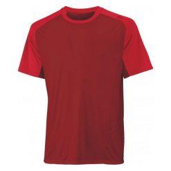 Wilson Koszulka Sportowa M Solana Colorblock Crew Terra Red S. Czerwone koszulki do fitnessu męskie Wilson, m, ze skóry. W wyprzedaży za 96,00 zł.