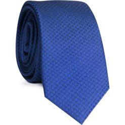 KRAWAT KWNS001600. Czarne krawaty męskie Giacomo Conti, z mikrofibry, wizytowe. Za 69,00 zł.