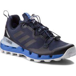 Buty adidas - Terrex Fast Gtx-Surround GORE-TEX W B27909  Legink/Legink/Hirblu. Czarne buty sportowe damskie marki Adidas, z kauczuku. W wyprzedaży za 479,00 zł.