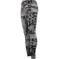 Legginsy: legginsy damskie ADIDAS WORKOUT LONG TIGHT TYPO / AJ5049
