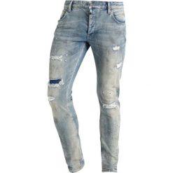 Jeansy męskie regular: Tigha BILLY THE KID Jeansy Slim Fit vintage sand blue ripped