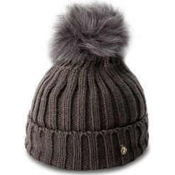 Czapka TRUSSARDI JEANS - Hat Pon Pon Knitted 59Z00007  E151. Szare czapki zimowe damskie marki Calvin Klein Jeans, na zimę, z jeansu. W wyprzedaży za 179,00 zł.