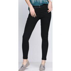 Spodnie damskie: Czarne Spodnie Night On My Own
