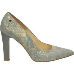 Buty ślubne damskie: Czółenka - 3900-4941 G-M