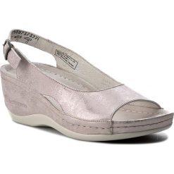 Rzymianki damskie: Sandały BERKEMANN – Phoebe 01763 Rose/Silber 673