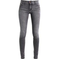 Boyfriendy damskie: Teddy Smith AVA SKINNY Jeans Skinny Fit grey