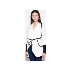 Swetry klasyczne damskie: Sweter VT036 Ecru