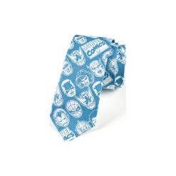 Krawat męski  AVENGERS. Czerwone krawaty męskie HisOutfit, z motywem z bajki, z materiału. Za 129,00 zł.
