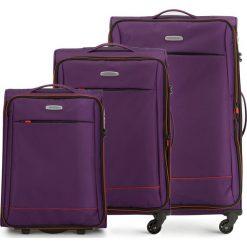 Zestaw walizek 56-3S-46S-44. Brązowe walizki marki Wittchen, duże. Za 685,41 zł.
