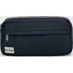 Mi-Pac - Nerka. Czarne walizki marki Mi-Pac, w paski, z bawełny, małe. Za 89,90 zł.