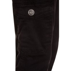 Blue Effect BOYS PANT Bojówki schwarz antik. Czarne spodnie chłopięce Blue Effect, z bawełny. Za 209,00 zł.