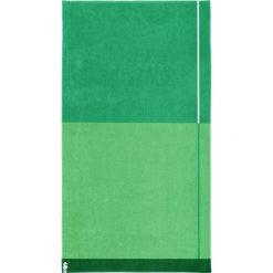 """Kąpielówki męskie: Ręcznik plażowy """"Block"""" w kolorze zielonym"""
