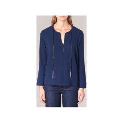 Bluzki Molly Bracken  DIRIA. Niebieskie bluzki asymetryczne Molly Bracken, s. Za 127,20 zł.