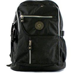 Czarny plecak w sportowym stylu. Czarne plecaki damskie marki Bag Street, z materiału, sportowe. Za 64,90 zł.