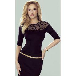 Elegancka damska bluzka Amanda. Szare bluzki wizytowe Astratex, z elastanu, biznesowe. Za 82,99 zł.