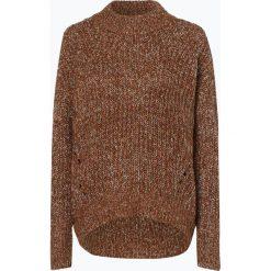 Opus - Sweter damski – Panelopy, beżowy. Brązowe swetry klasyczne damskie Opus, z dzianiny, z golfem. Za 329,95 zł.