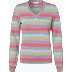 Brookshire - Sweter damski, różowy. Czarne swetry klasyczne damskie marki brookshire, m, w paski, z dżerseju. Za 179,95 zł.