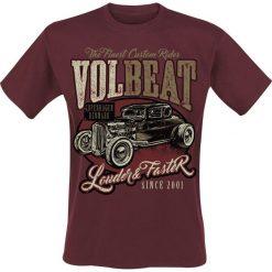 T-shirty męskie: Volbeat Louder And Faster T-Shirt czerwony