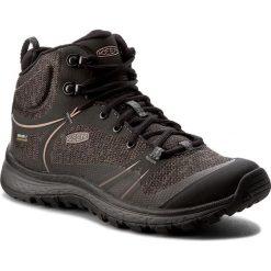 Trekkingi KEEN - Terradora Mid Wp 1016769  Raven/Rose Dawn. Czarne buty trekkingowe damskie Keen. W wyprzedaży za 329,00 zł.