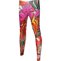 Legginsy sportowe damskie: Adidas Originals Legginsy damskie Rita Ora Dragon Print multikolor r. 40 (A96217)