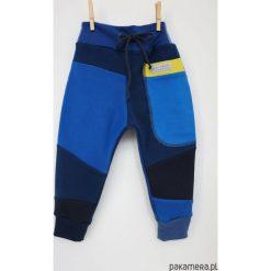 Spodnie chłopięce: PATCH PANTS spodnie 74 - 98 cm granatowe