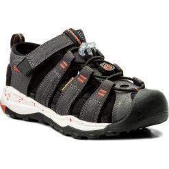 Sandały KEEN - Newport Neo H2 1018426 Magnet/Spicy Orange. Czarne sandały chłopięce marki Keen, z materiału. W wyprzedaży za 199,00 zł.