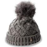 Czapka TRUSSARDI JEANS - Hat Knitted Pon Pon 59Z00003  E151. Czarne czapki zimowe damskie marki Trussardi Jeans, z jeansu, na obcasie. W wyprzedaży za 199,00 zł.