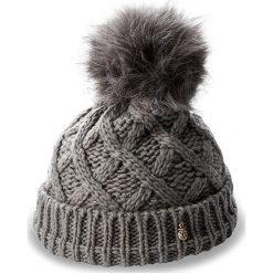 Czapka TRUSSARDI JEANS - Hat Knitted Pon Pon 59Z00003  E151. Szare czapki zimowe damskie marki Calvin Klein Jeans, na zimę, z jeansu. W wyprzedaży za 199,00 zł.