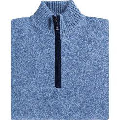 Sweter FILIPPO SWNR000115. Brązowe swetry klasyczne męskie Giacomo Conti, m, z tkaniny, ze stójką. Za 199,00 zł.