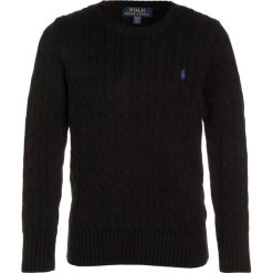 Swetry chłopięce: Polo Ralph Lauren CABLE Sweter black
