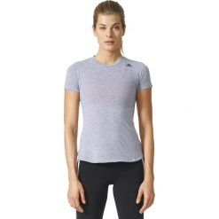 Adidas Koszulka Prime Tee szary r. M (BK2701). Szare topy sportowe damskie Adidas, m. Za 86,29 zł.