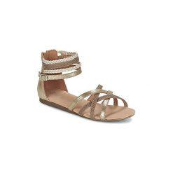 Sandały Dziecko  Bullboxer  GAISY. Brązowe sandały dziewczęce marki Primigi, z materiału. Za 143,20 zł.