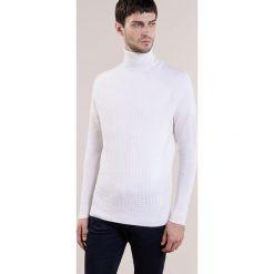Swetry klasyczne męskie: Reiss FELTON Sweter ecru