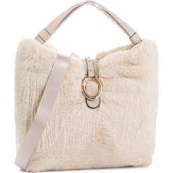 Torebka LIU JO - L Hobo Darsena Fur N68041 E0218 Soia 21404. Brązowe torebki klasyczne damskie marki Liu Jo, z materiału. Za 739,00 zł.
