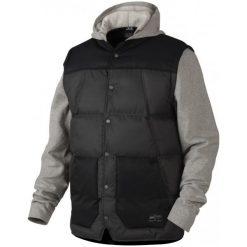 Oakley Kurtka Ambassador Fleece Granite Heather L. Brązowe kurtki sportowe męskie Oakley, m, z polaru. W wyprzedaży za 349,00 zł.