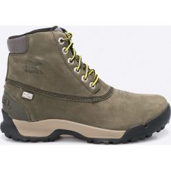 Sorel - Buty Paxson. Szare buty trekkingowe męskie Sorel, z materiału, na sznurówki, outdoorowe. W wyprzedaży za 319,90 zł.