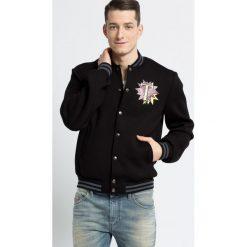 Trussardi Jeans - Kurtka. Czarne kurtki męskie jeansowe marki Trussardi Jeans, s. W wyprzedaży za 799,90 zł.
