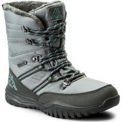 Śniegowce KAPPA - Balto Tex 242364 Grey/Mint 1637. Czarne buty zimowe damskie marki Cropp. W wyprzedaży za 169,00 zł.