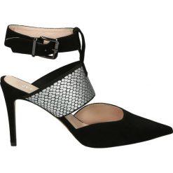 Buty ślubne damskie: Czółenka - 0016-11 CA NE