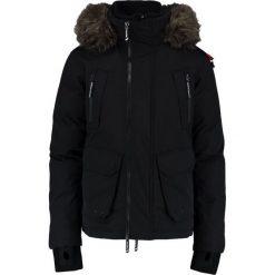 Superdry PREMIUM ULTIMATE Kurtka puchowa black. Czarne kurtki męskie bomber Superdry, m, z bawełny. W wyprzedaży za 855,20 zł.