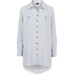 Koszule body: Koszula w paski bonprix czarno-biały prążek