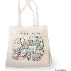 Torebki klasyczne damskie: TORBA XL   Jestem z Pipidówy   Bawełniana