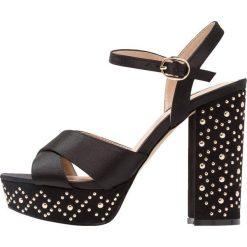 Sandały damskie: Miss Selfridge CROWN Sandały na obcasie black