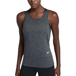 Nike Koszulka damska Dry Tank Loose RBK szara r. S (904460-010). Czarne topy sportowe damskie marki Nike, xs, z bawełny. Za 99,00 zł.